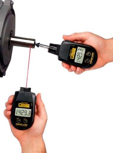 Checkline PLT-5000 Handheld Laser Tachometer