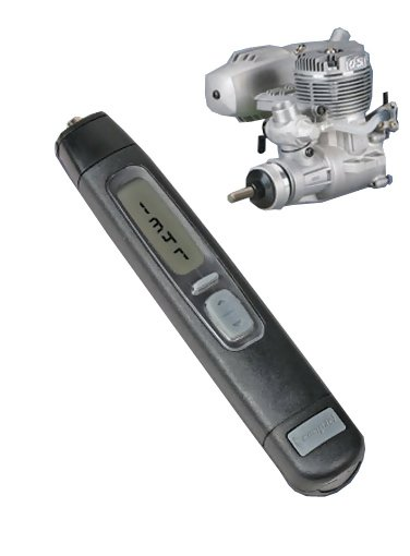 Compact A2105 Gas Engine Handheld Tachometer