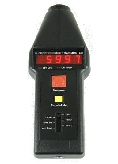 CT6/M CT6 Tachometer - Metric Units