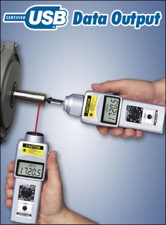 DT-209X Handheld Laser Tachometer