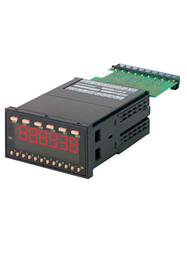 DT-5TXR Panel Meter with Output Module Capability, Selectable inputs, 100-240 VAC Power