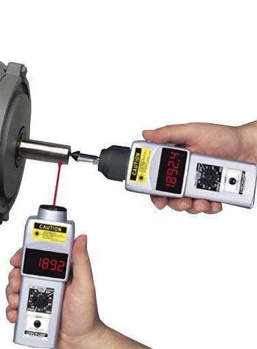 Shimpo DT-205LR DT-207LR Handheld Tachometer NSN 6680-01-378-6490